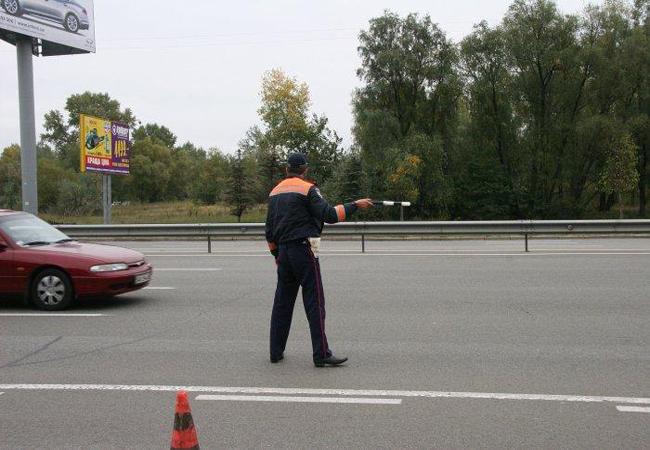 ГАИ Харьковской области ловит неплательщиков штрафов