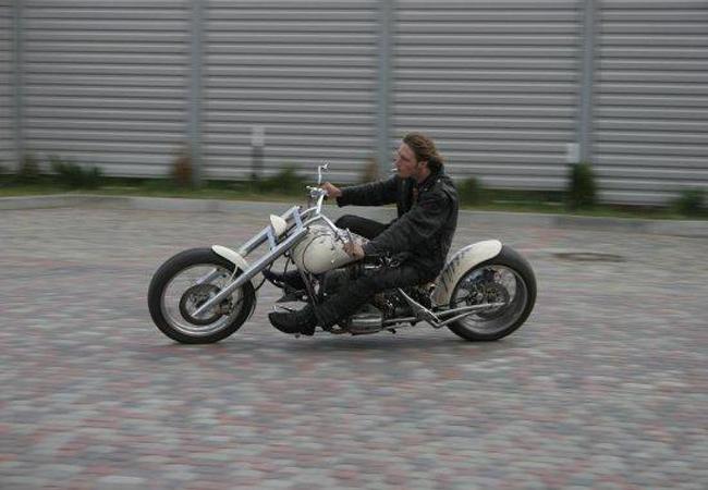 ГАИ Полтавской области предостерегает мотоциклистов