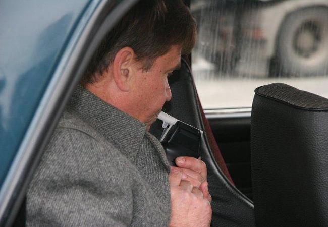Пьяный водитель такси попался ГАИ