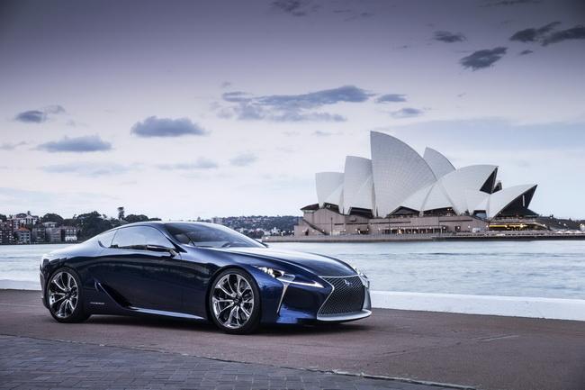 Концепт Lexus LF-LC Blue дебютировал в Сиднее