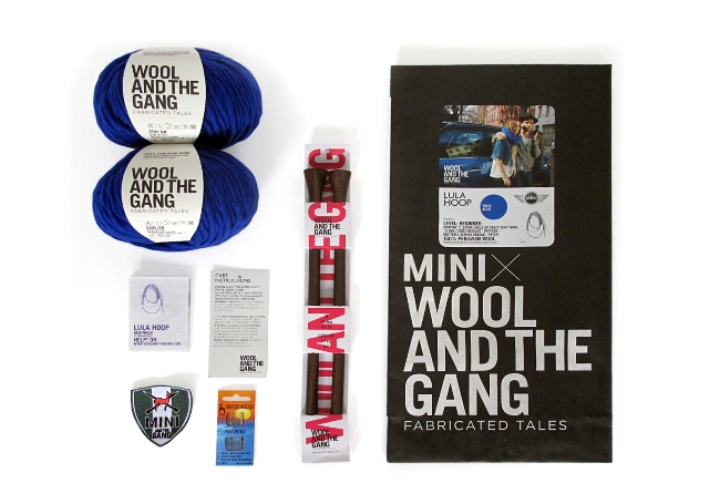 шерстяные аксессуары Wool and the Gang