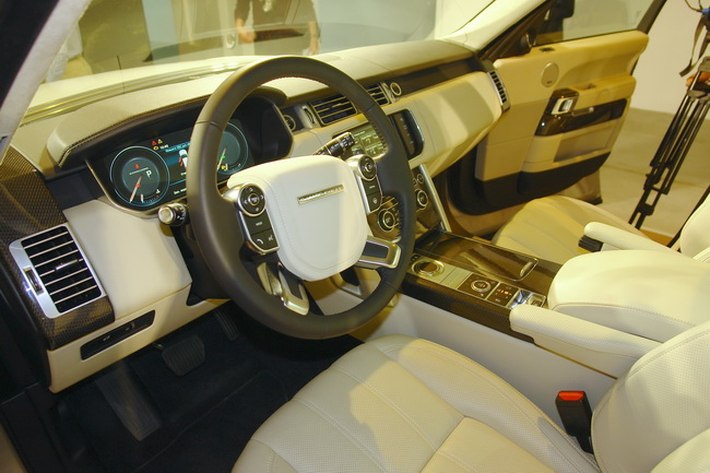Новый Range Rover фото