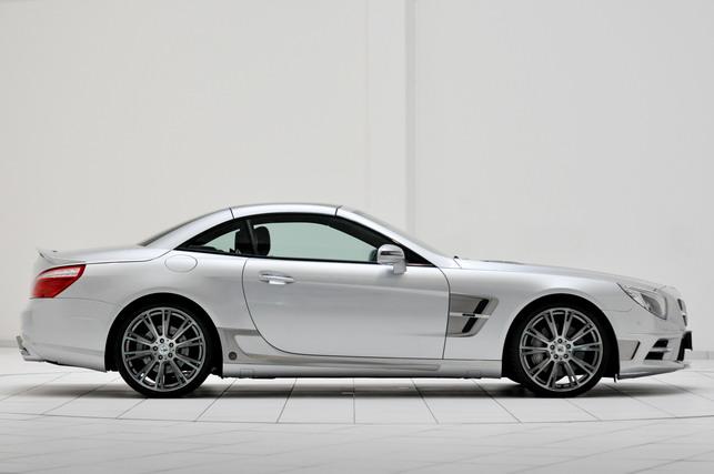 Новый родстер Mercedes SL: тюнинг от ателье Brabus