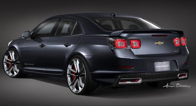 Выставка тюнинга SEMA 2012: новый Chevrolet Malibu Turbo Performance