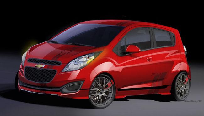 Выставка тюнинга SEMA 2012: концепт Chevrolet Spark Z-Spec