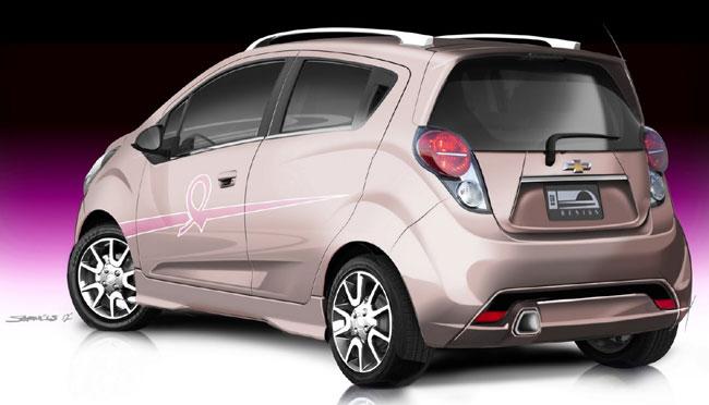 Выставка тюнинга SEMA 2012: концепт Chevrolet Pink Out Spark