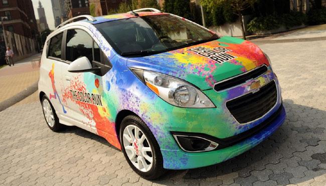 Выставка тюнинга SEMA 2012: концепт Chevrolet The Color Run Spark