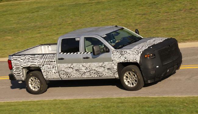 Новый пикап Chevrolet Silverado
