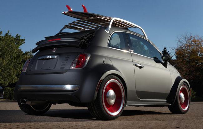 Выставка тюнинга SEMA 2012: Fiat 500 Beach Cruiser