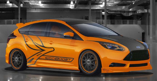 концепт Ford Focus ST от Bernal Auto Style
