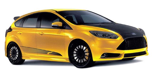 концепт Ford Focus ST от Steeda