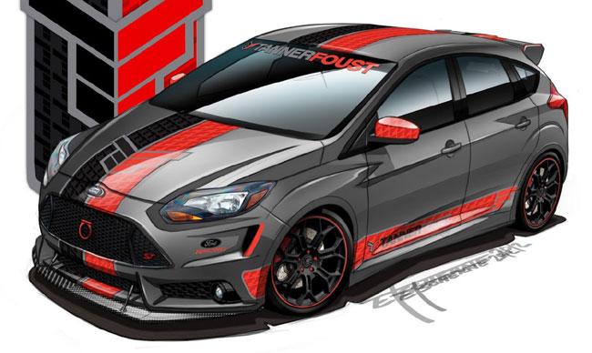 концепт Ford Focus ST от Tanner Foust