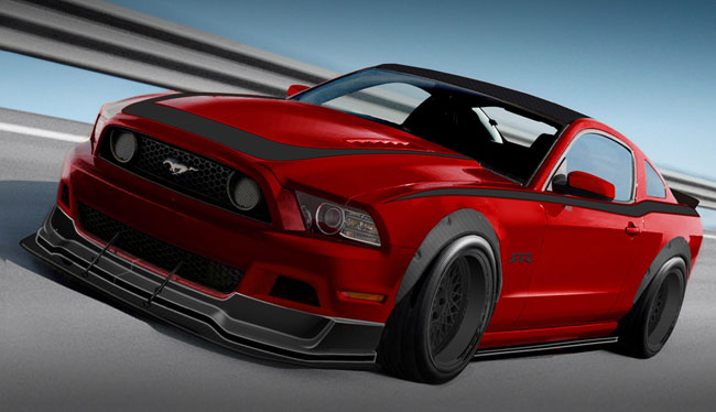 тюнинг Ford Mustang от Mothers/Autosport Dynamics/RTR