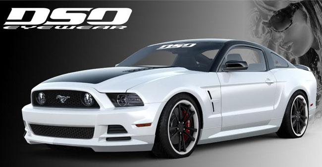 тюнинг Ford Mustang от DSO Eyewear