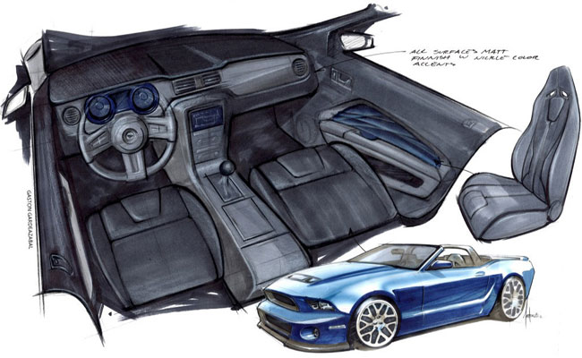 тюнинг Ford Mustang от Stitchcraft