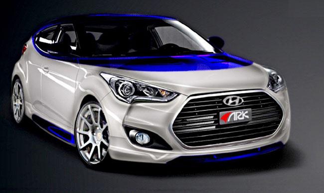 концепт Hyundai Veloster Alpine
