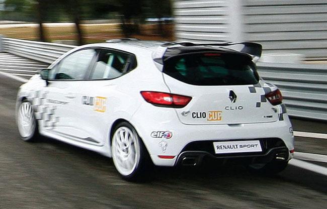 кубковый Renault Clio RS
