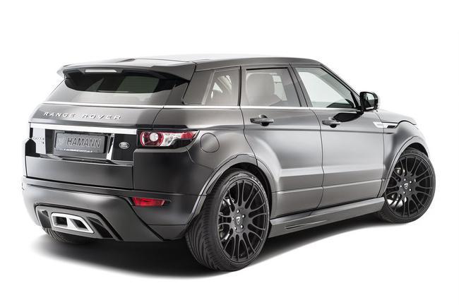 Тюнинг Hamann для кроссовера Range Rover Evoque