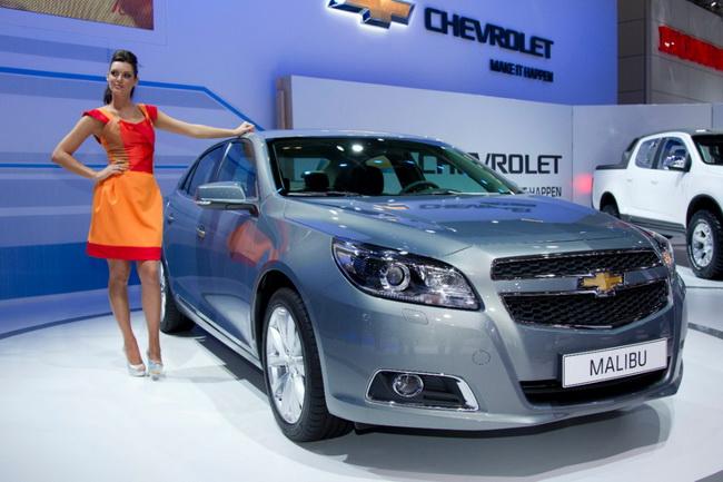 Скидки на автомобили Chevrolet