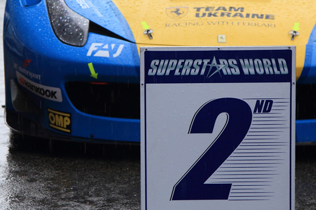 Team Ukraine racing with Ferrari вышла в лидеры GT Sprint International Series
