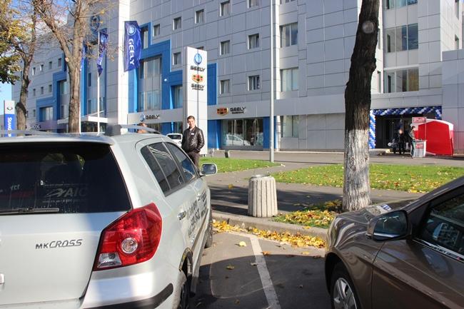 Народный тест Geely в Киеве: машины часто даже не глушили