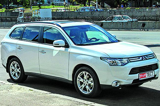 Народный тест Mitsubishi Outlander