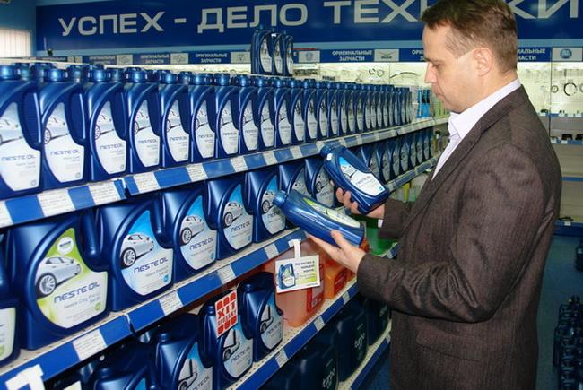 моторные масла Neste Oil