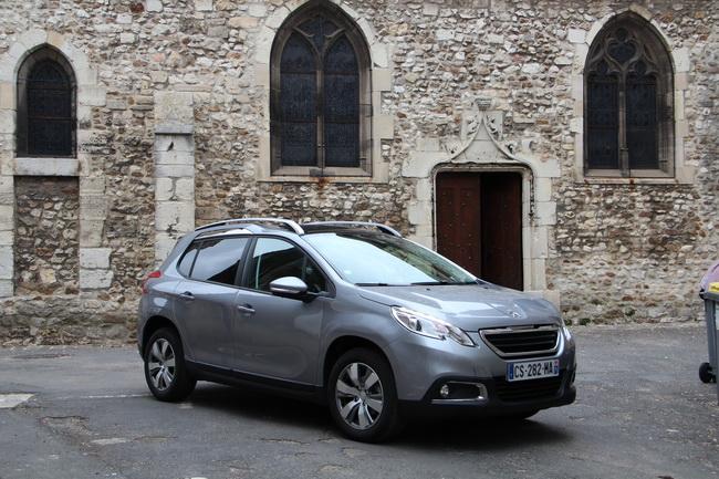 Тест-драйв нового кроссовера Peugeot 2008