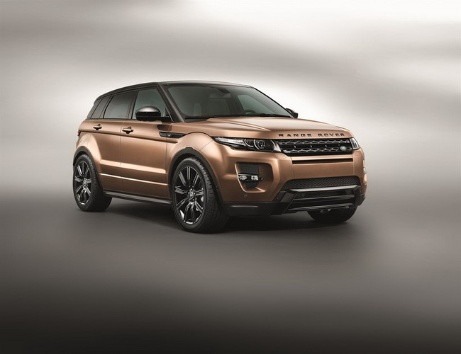 Новые технологические достижения Range Rover Evoque