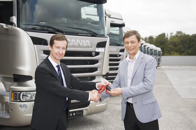 Поставка грузовиков Scania для «Транс-Логистик»
