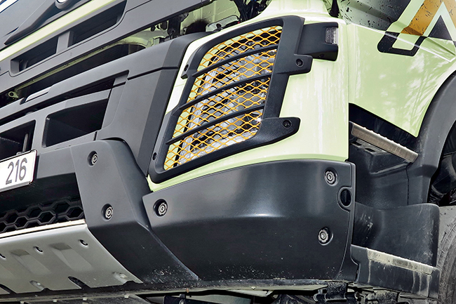 Тест-драйв Volvo FMX