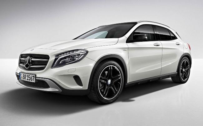 Новый Mercedes GLA