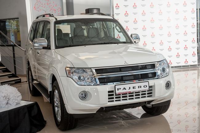 Обновленный Mitsubishi Pajero Wagon