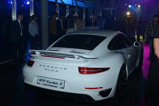 Новий Porsche 911 Turbo S в Україні