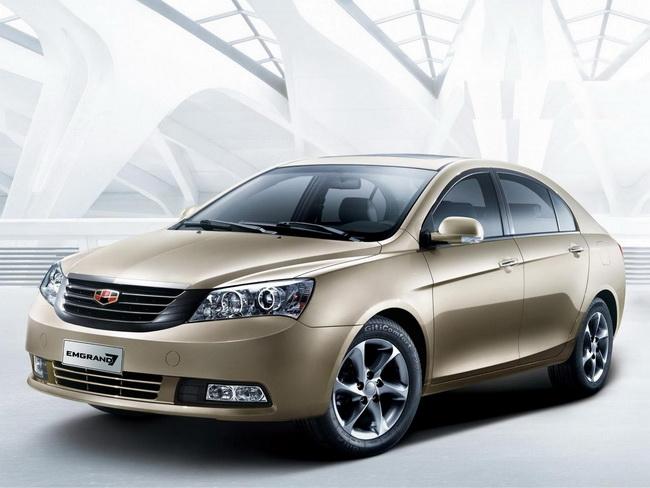 Рост продаж автомобилей Geely в Украине растет