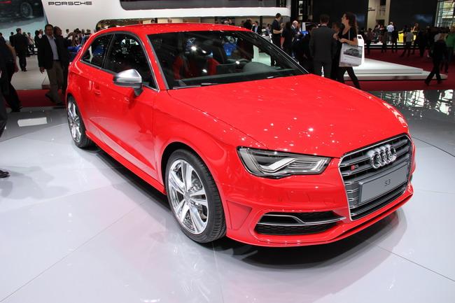 третье поколение хэтчбека Audi S3