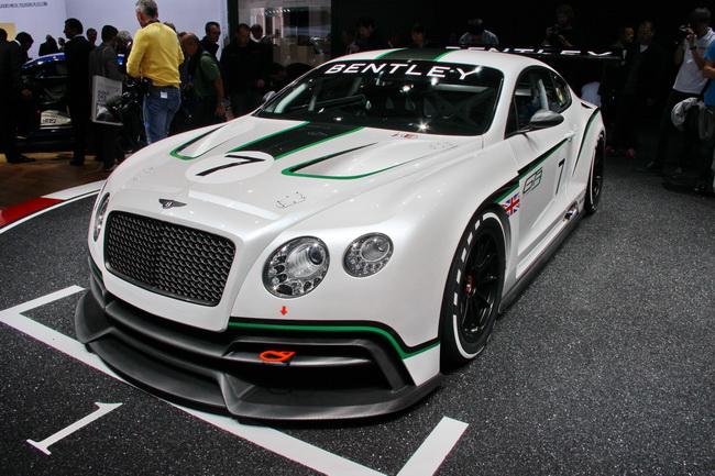 Bentley Continental GT3 на Парижском автосалоне 2012