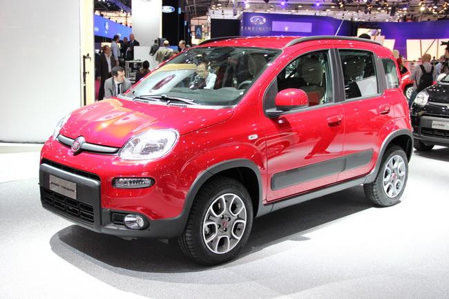 Моноприводная Fiat Panda Trekking