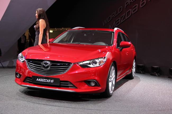 Парижский автосалон 2012: Новый Mazda 6 универсал