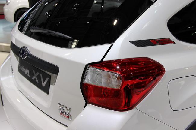 Парижский автосалон 2012: новые модели Subaru