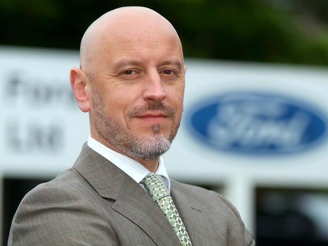 Босс европейского автоспортивного отделения Ford  Джерард Куинн