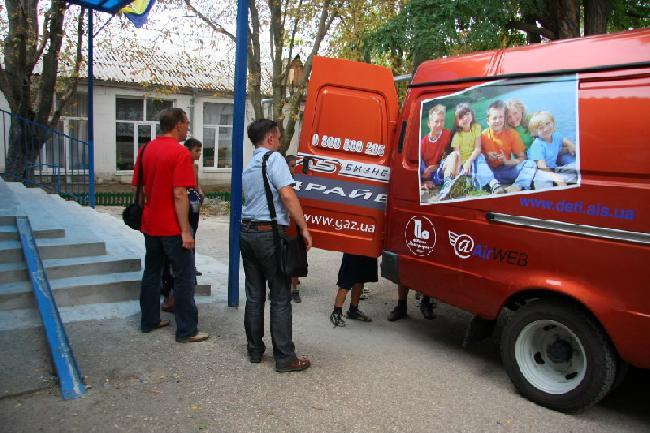 Благотворительный автопробег «АИС-детям» гостил в интернате в Чеботарке