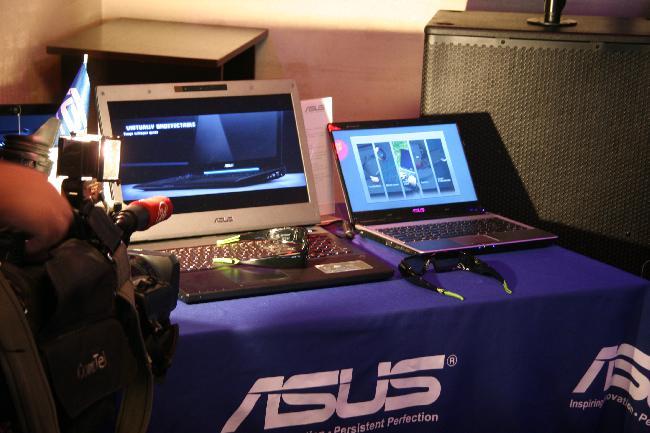 Asus показал также несколько новых мультимедийных моделей ноутбуков.