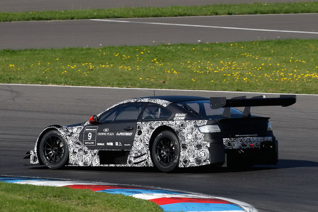 DTM: Первые тесты BMW