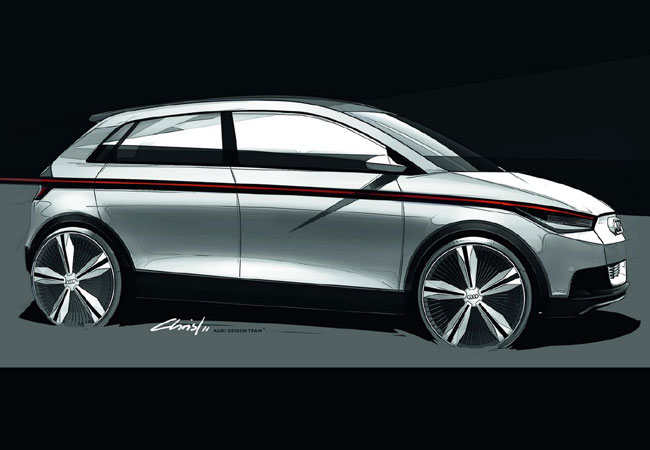 Audi A2 концепт