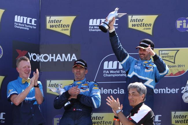 WTCC в Валенсии, Иван Мюллер победил в обоих гонках