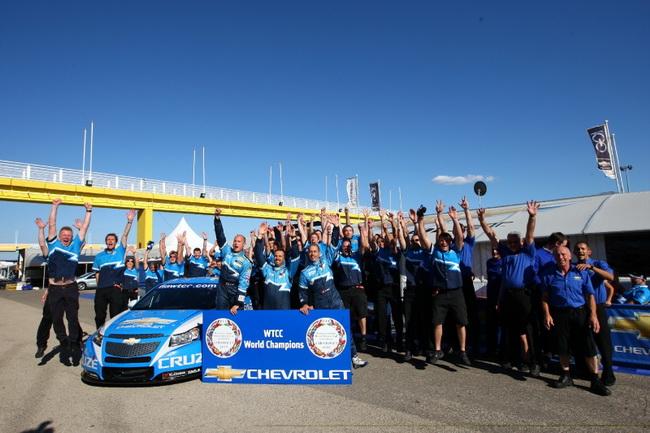 WTCC в Валенсии, Chevrolet завоевал титул Производителей