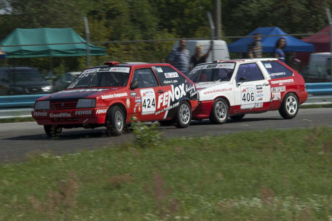 Чемпионат Украины по кольцевым гонкам: Было жарко