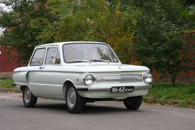 В руки тест-пилотам «Автоцентра» попал первый украинский автомобиль с кузовом тудор