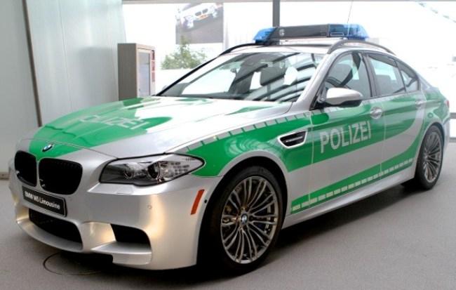 Немецкая полиция в скором времени получит в свое распоряжение  несколько спортивных седанов BMW M5